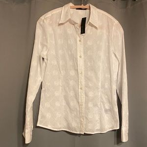 The Limited Stitched Detail Button Down Shirt NWT